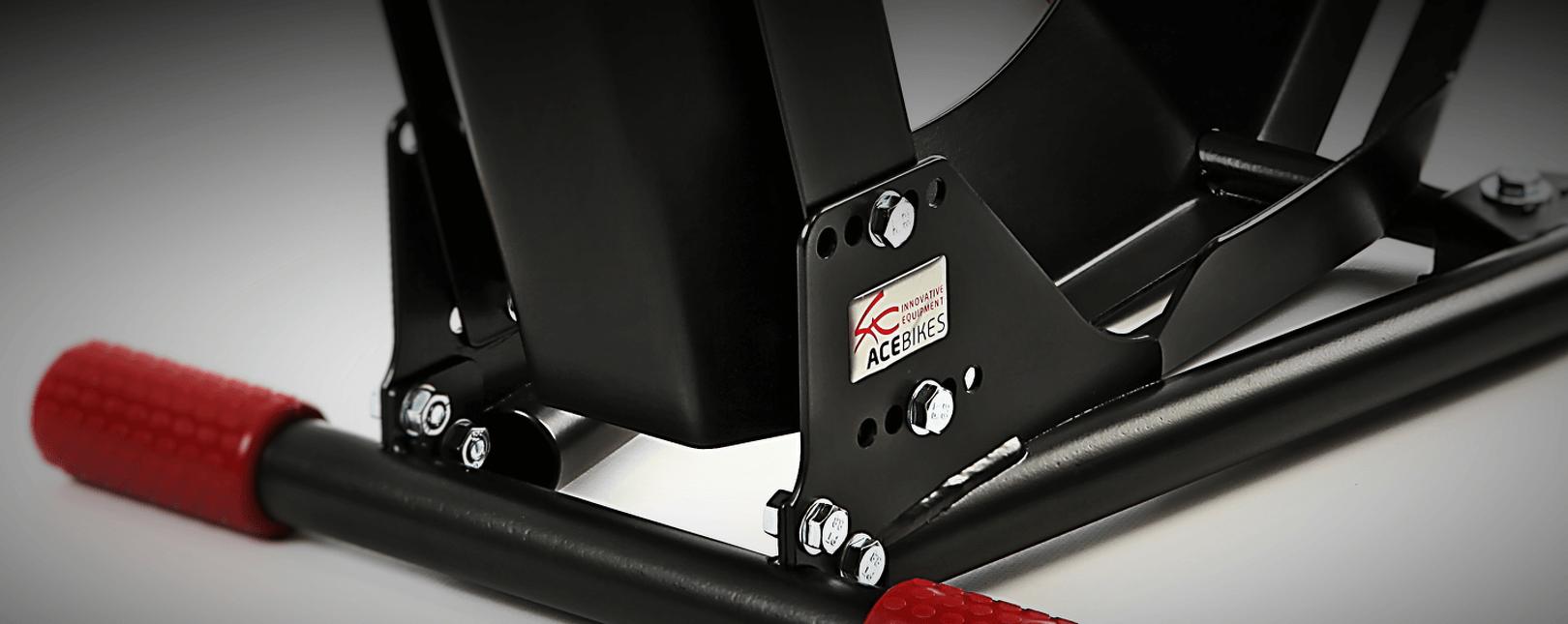 Ace Bikes AceBikes MotorMover Support de Guidon pour b/équille Argent/é//Rouge
